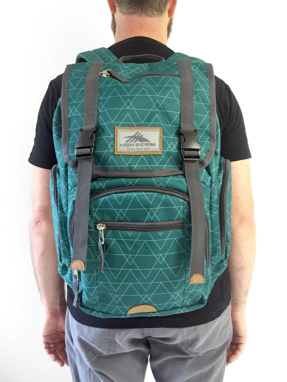 High Sierra backpack design