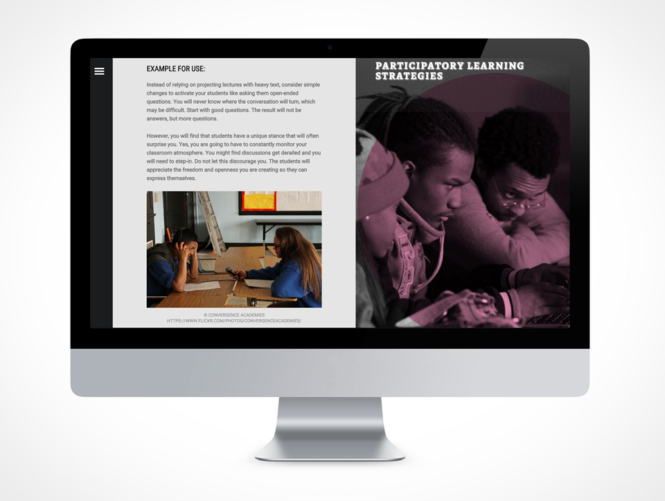 Participatory Learning Strategies site